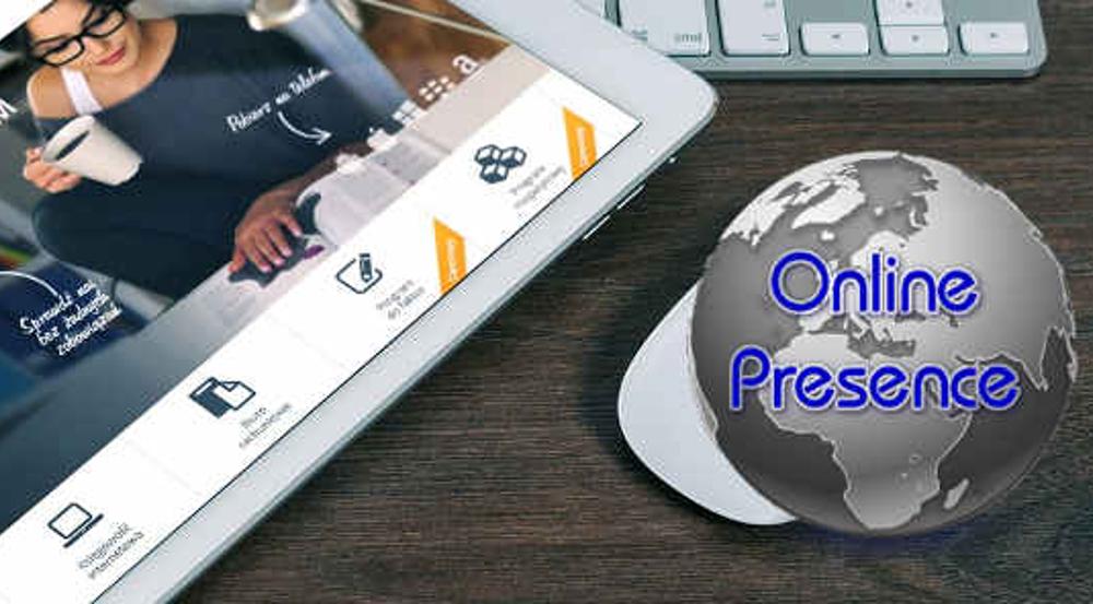 Online Presence head imsge